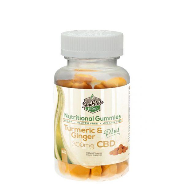 Sun State Turmeric & Ginger CBD Gummies