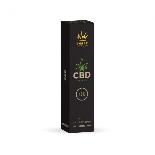 Three Kings 15% 1500mg CBD Oil